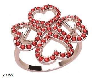 Кольцо-Сердца
